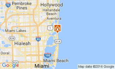 Mapa Miami Beach Apartamento 47405