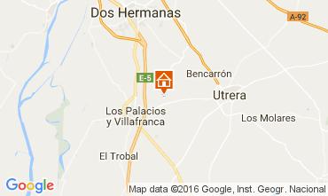 Mapa Utrera Casa rural 106073