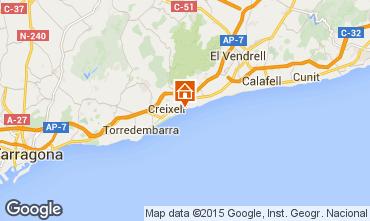 Mapa Torredembarra Chalet 61565