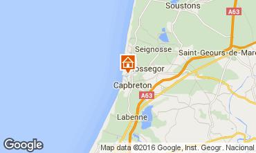 Mapa Hossegor Apartamento 6464
