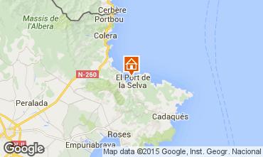 Mapa Cadaqués Casa 58399