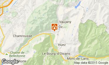Mapa Alpe d'Huez Chalet 66024