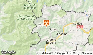 Mapa Pal-Arinsal habitaci�n de hu�spedes 91046