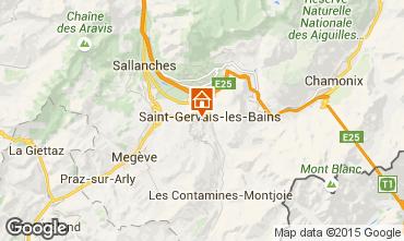 Mapa Saint-Gervais-les-Bains Estudio 86819
