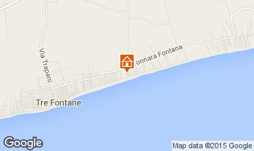 Mapa Tre Fontane Villa 95677