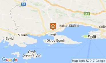 Mapa Trogir Casa 112579