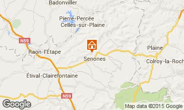 Mapa Gérardmer Chalet 92467