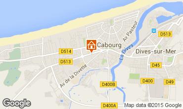 Mapa Cabourg Apartamento 97157