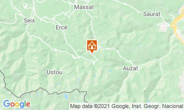 Mapa Aulus les Bains Casa rural 106964