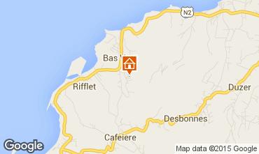 Mapa Deshaies Casa rural 73814