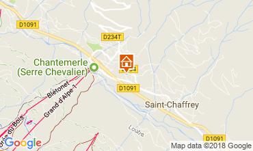 Mapa Serre Chevalier Apartamento 60452