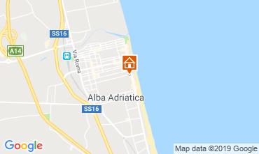 Mapa Alba Adriatica Apartamento 118420