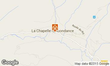 Mapa La Chapelle d'Abondance Apartamento 68203