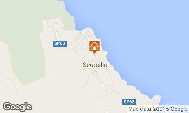 Mapa Scopello Villa 31625