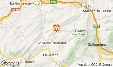Mapa Le Grand Bornand Chalet 68133
