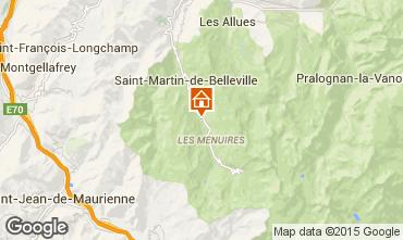 Mapa Les Menuires Chalet 41939