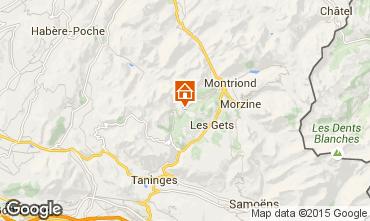 Mapa Les Gets Apartamento 1352