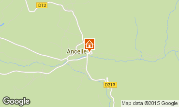 Mapa Ancelle Chalet 68591