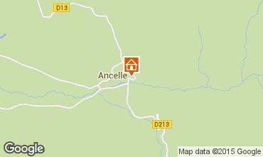 Mapa Ancelle Chalet 68591