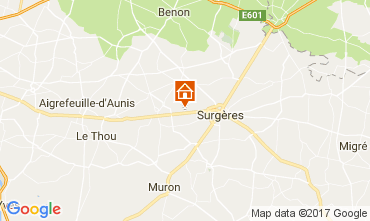 Mapa La Rochelle Casa rural 108187