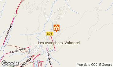 Mapa Valmorel Apartamento 76576