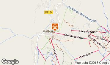 Mapa Valloire Apartamento 79627