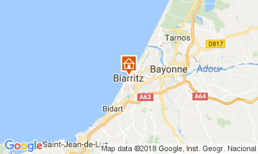 Mapa Biarritz Apartamento 112838