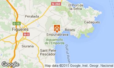 Mapa Ampuriabrava Villa 92908