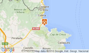 Mapa Llança Apartamento 92855