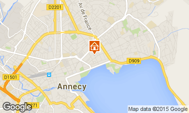 Mapa Annecy Apartamento 95281