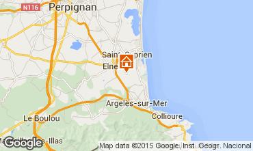 Mapa Argeles sur Mer Casa 31430