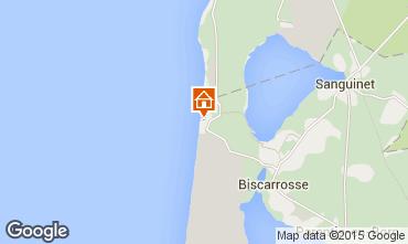 Mapa Biscarrosse Estudio 6547