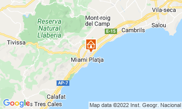 Mapa Cambrils Casa 92760
