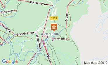Mapa Les Arcs Estudio 73833