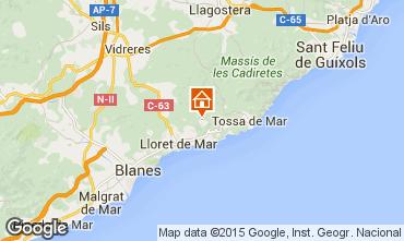 Mapa Lloret de Mar Villa 78018