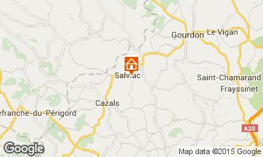 Mapa Gourdon Casa rural 102124