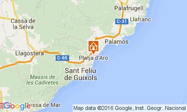 Mapa Playa d'Aro Apartamento 98671