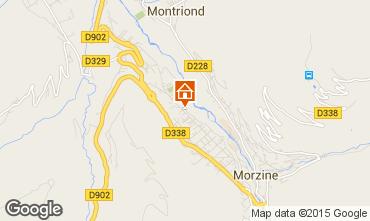 Mapa Morzine Apartamento 39906