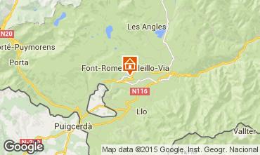 Mapa Font Romeu Apartamento 4172