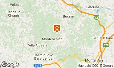 Mapa Siena Casa rural 84894