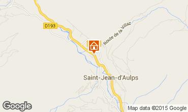 Mapa Saint Jean d'Aulps- La Grande Terche Chalet 70306