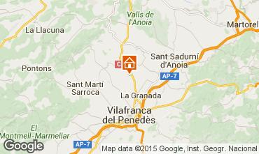 Mapa Barcelona Casa rural 17009