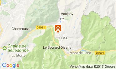 Mapa Alpe d'Huez Apartamento 67048
