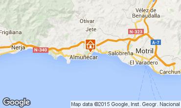 Mapa Almu�ecar Casa 96688