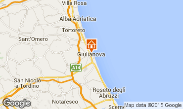 Mapa Giulianova Apartamento 96791