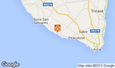 Mapa Pescoluse Apartamento 86166