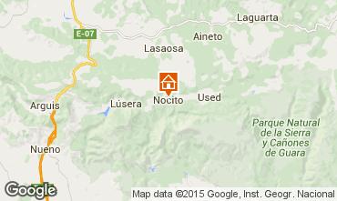 Mapa Huesca habitación de huéspedes 41565