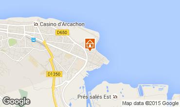 Mapa Arcachon Estudio 73087