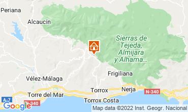 Mapa Torrox Villa 88509