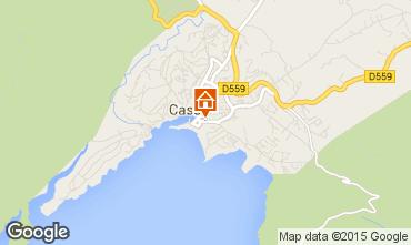 Mapa Cassis Apartamento 83306